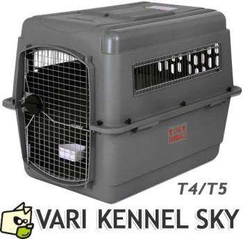 T4 Vari Kennel SKY gris