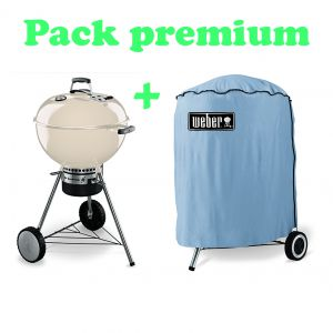 Weber one touch premium 57cm for Barbecue weber one touch premium
