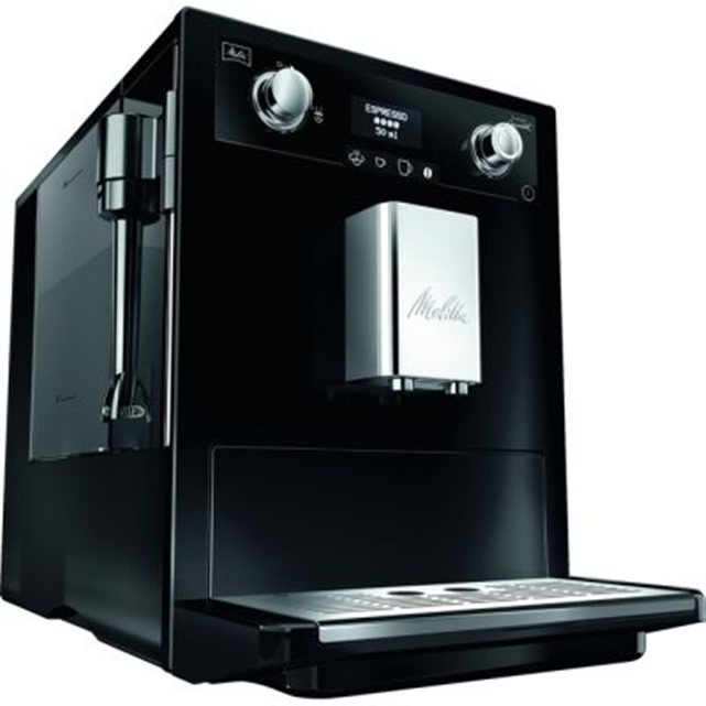 machine caf expresso melitta caffeo gourmet noir. Black Bedroom Furniture Sets. Home Design Ideas